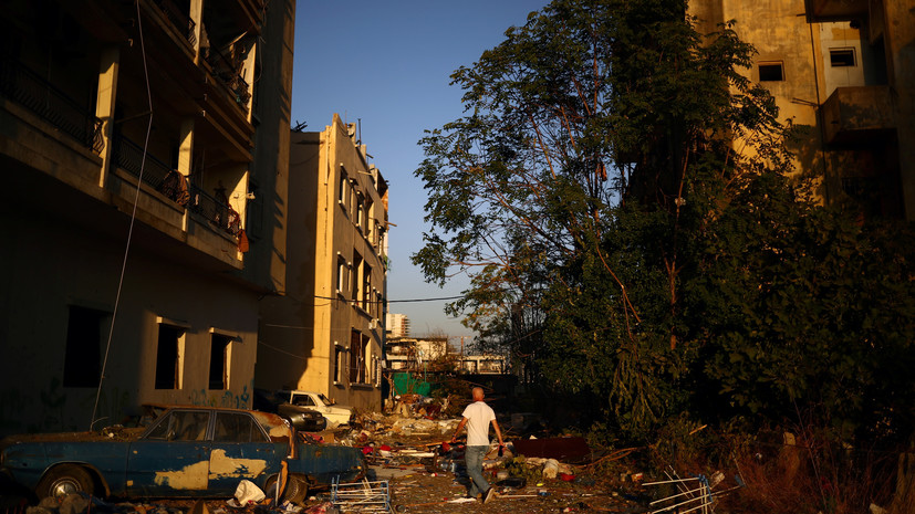Число жертв взрыва в Бейруте возросло до 154