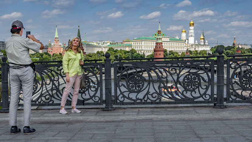 В Москве 8 августа ожидается до +26 °С