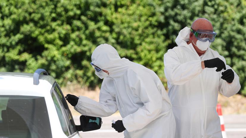 Число случаев заболевания коронавирусом в ФРГ достигло 215 336