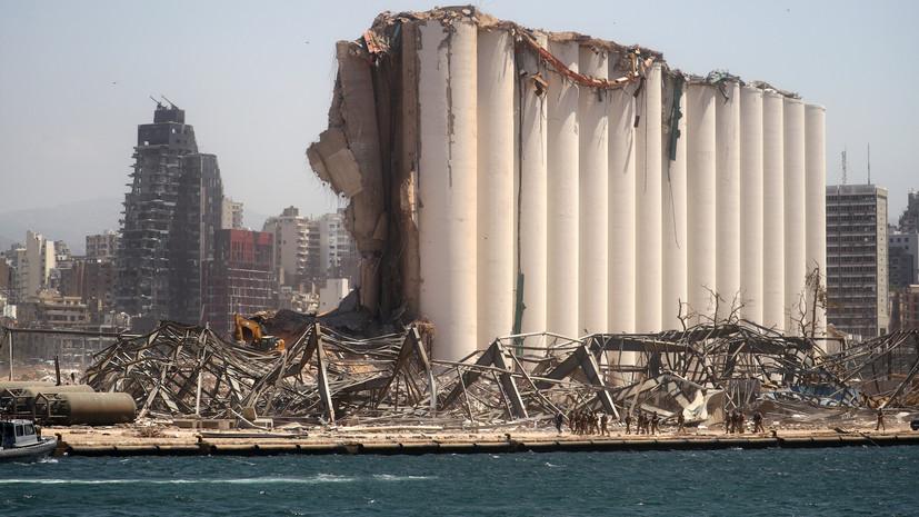 Капитан перевозившего селитру судна прокомментировал взрыв в Бейруте