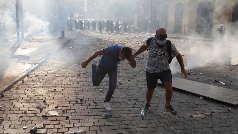 Ливанская армия выбила протестующих из зданий двух министерств