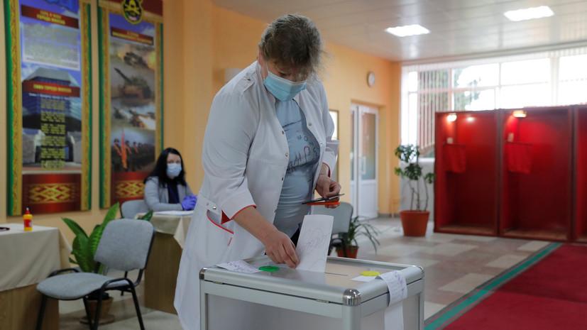 В Белоруссии началось голосование на президентских выборах