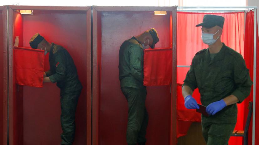 В Белоруссии допускают введение вечером пропускного режима на участках