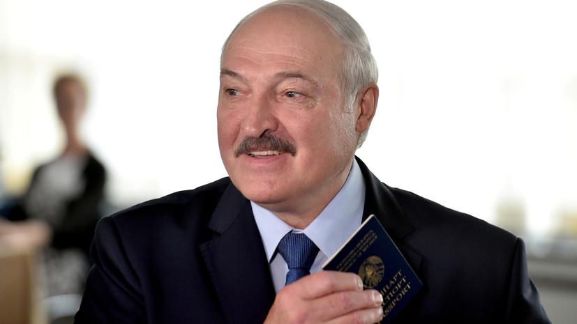 Лукашенко заявил о получении письма от Путина о задержанных россиянах
