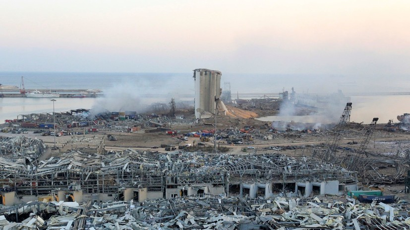 Ливан считает международное расследование ЧП в Бейруте потерей времени