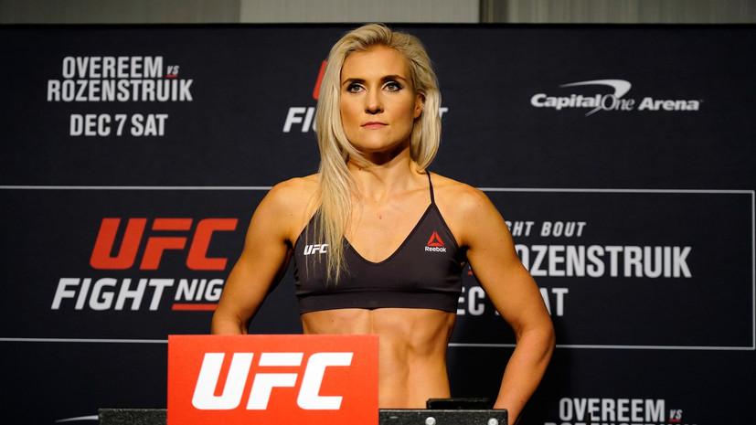 Куницкая высказалась о поражении Олейника от Льюиса на UFC Vegas 6