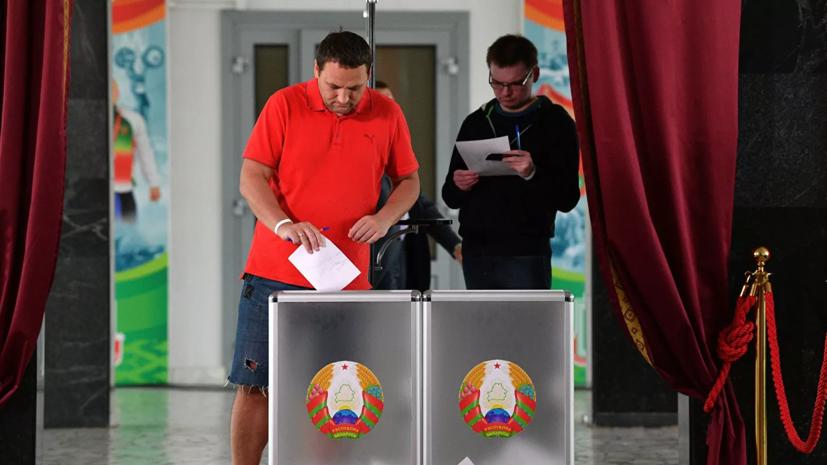 В Минске продолжилось голосование на выборах из-за очередей