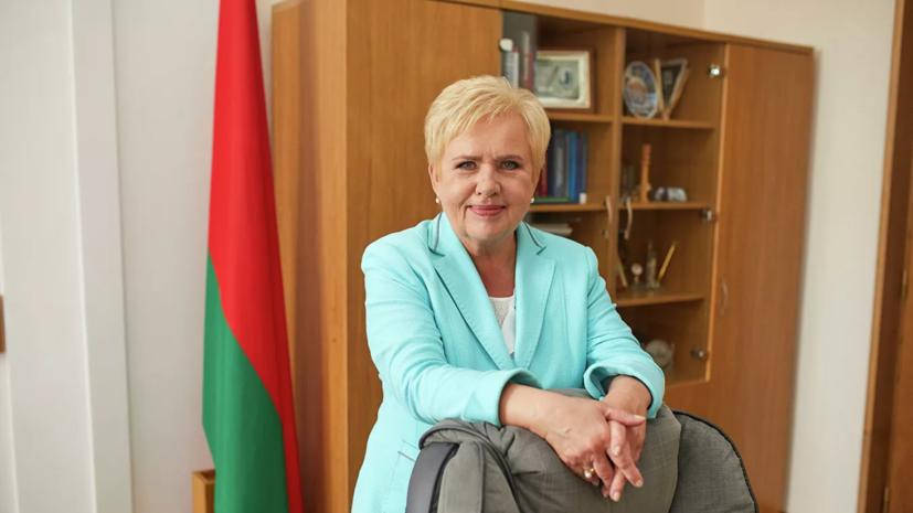 Глава ЦИК Белоруссии призвала проигравших принять поражение на выборах
