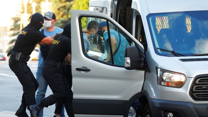 Милиция применила слезоточивый газ в Минске и Гродно