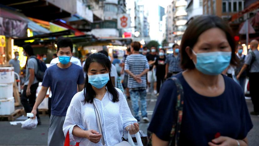 В Китае за сутки зафиксировали 49 случаев заболевания коронавирусом