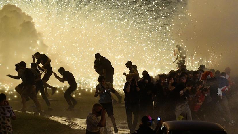 После массовых акций: СК Белоруссии работает на месте протестов в Минске
