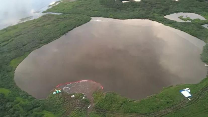 Минэкологии Красноярского края рассказало о загрязнении водоёмов Таймыра
