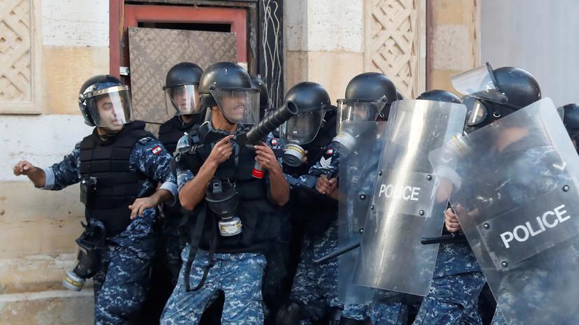 В МЧС сообщили об усилении охраны группировки из России в Бейруте