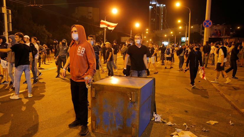 МВД Белоруссии заявило о задержании 3 тысяч человек в ходе беспорядков