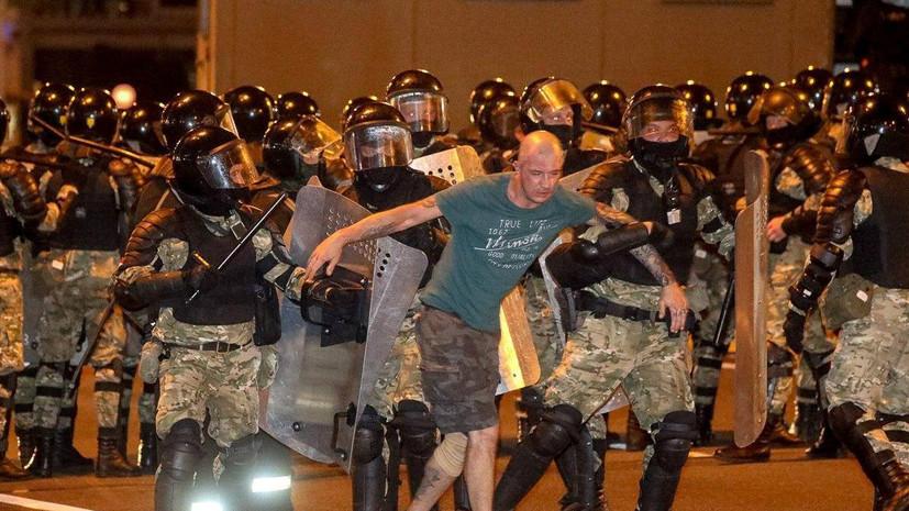 Акции протеста прошли в 33 населённых пунктах Белоруссии