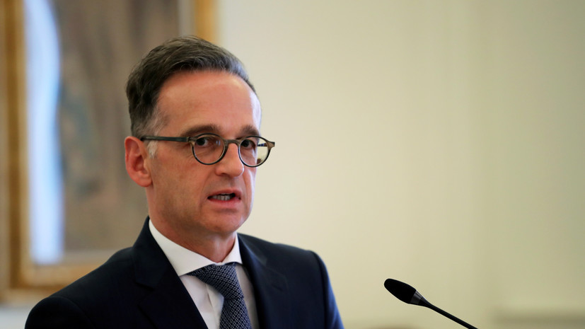 Маас в разговоре с Помпео высказался об угрозах США в адрес фирм ФРГ