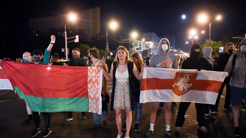 В центре Минска милиция оцепила площадь и скверы