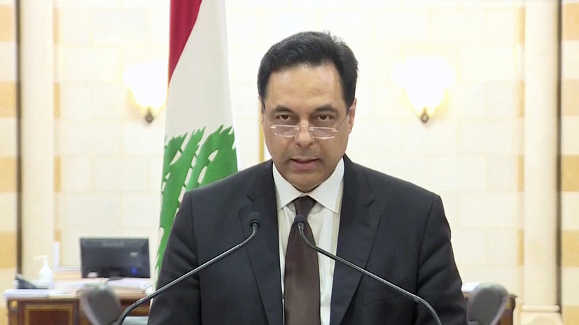 Премьер Ливана подтвердил отставку правительства