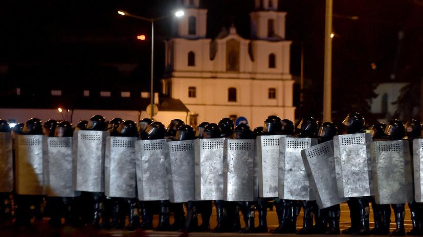 В Белом доме выразили обеспокоенность в связи с ситуацией в Белоруссии