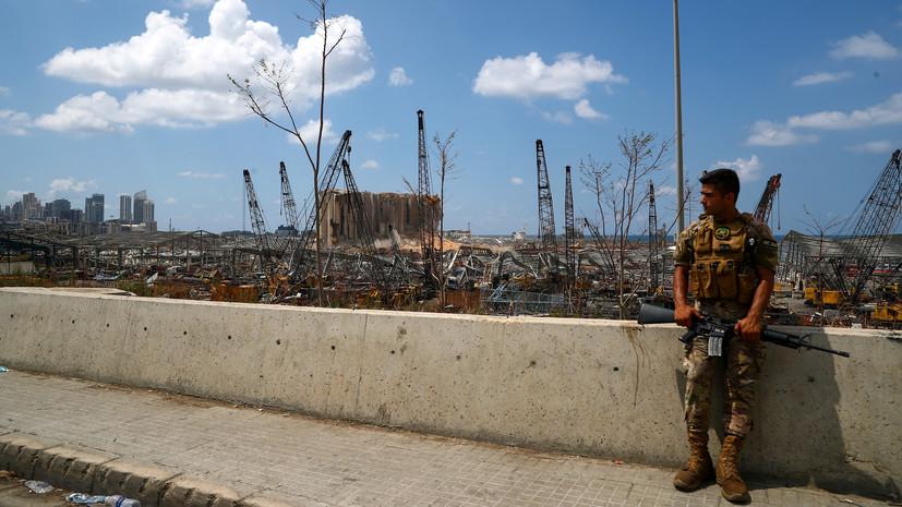 Армия восстановила контроль над центром Бейрута