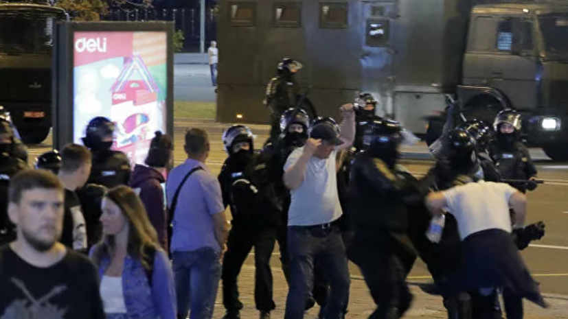 В Минске перекрыт въезд в центр города