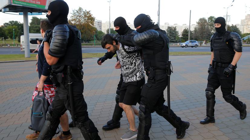 В МВД Белоруссии сообщили о задержании более двух тысяч человек