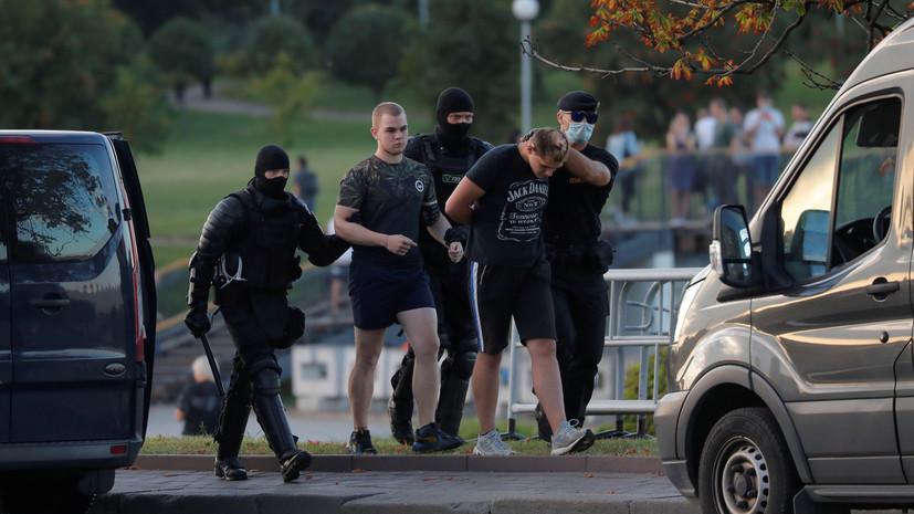 В Белоруссии госпитализировали более 200 человек из-за беспорядков