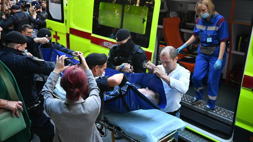 Из суда — в реанимацию: Михаил Ефремов госпитализирован в тяжёлом состоянии