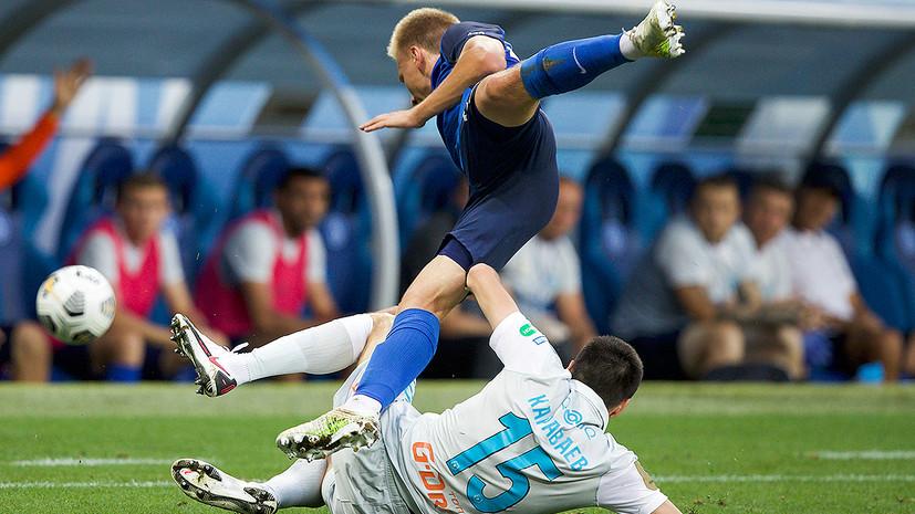 Тренер «Ротора» доволен реакцией игроков на результат матча с «Зенитом»