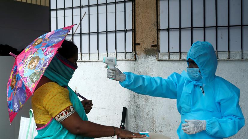 В Индии выявили более 60 тысяч случаев коронавируса за сутки
