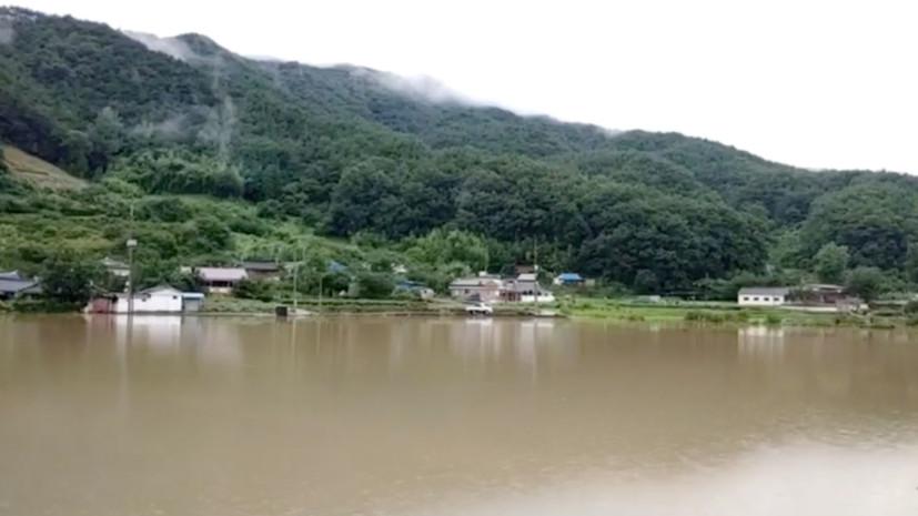 Более 30 человек погибли в Южной Корее из-за сильных дождей