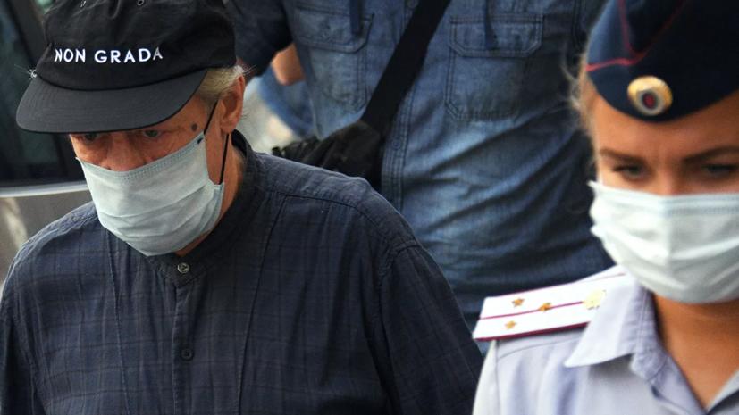 Суд отложил заседание по делу Ефремова на 18 августа