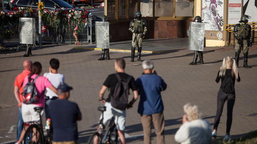 В Литве заявили о плане деэскалации ситуации в Белоруссии