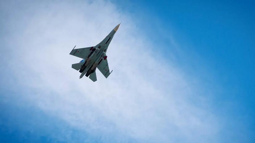 Су-27 подняли на перехват двух военных самолётов США над Чёрным морем