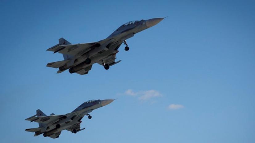 Авиация ЮВО выполнила учебные полёты над акваторией Чёрного моря