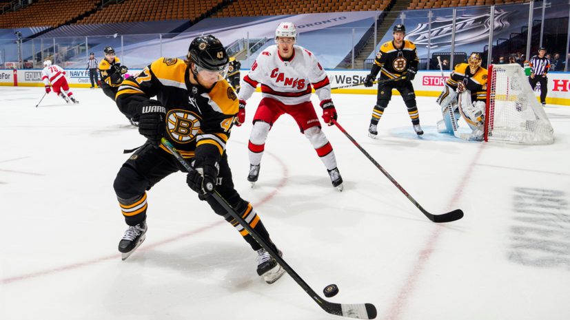 «Бостон» победил «Каролину» в овертайме матча Кубка Стэнли