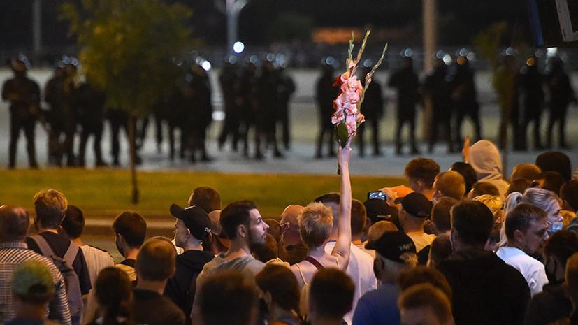 «Массовые беспорядки не происходили спонтанно»: в Белоруссии заявили о скоординированности действий протестующих