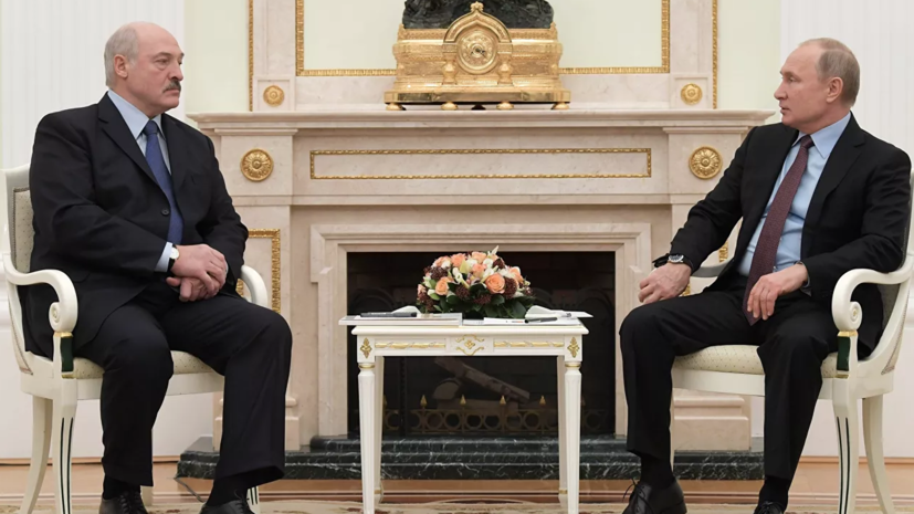 В Кремле заявили об отсутствии в графике Путина встречи с Лукашенко