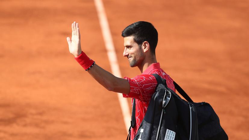 Джокович объявил о своём участии в US Open