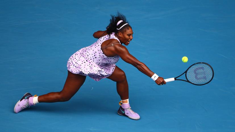 Серена Уильямс победила Винус на теннисном турнире в США