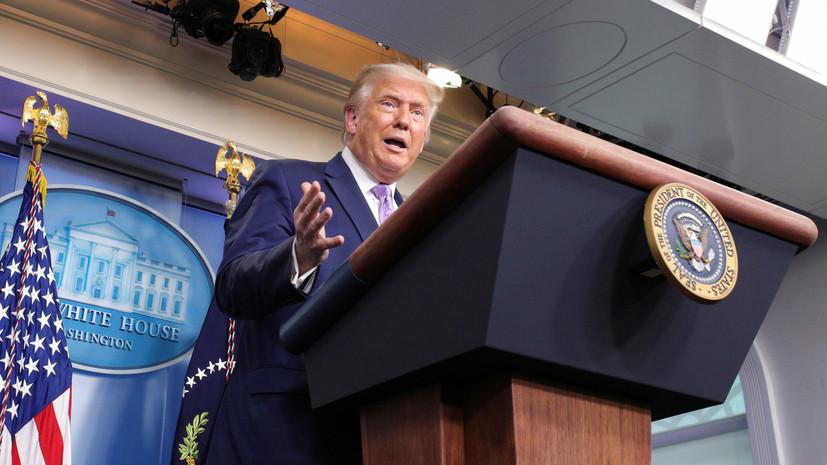 Трамп сообщил о планах подписания соглашения ОАЭ и Израиля в Вашингтоне