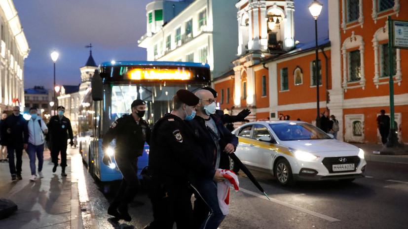 МВД Белоруссии сообщило, что издевательств над задержанными не было