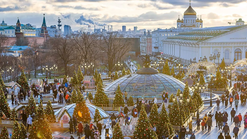 Ледовые шоу на площадках фестиваля «Путешествие в Рождество» в Москве продлятся до конца января