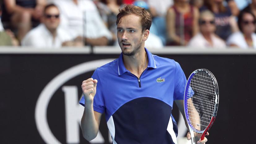Теннисист Медведев заявил, что готов к поездке в США