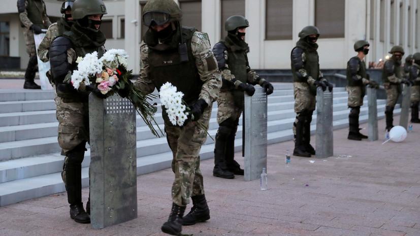 Демонстранты сохраняли спокойствие: участники акции протеста в Минске разошлись