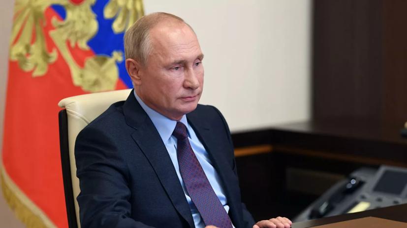 Путин поздравил актрису Хитяеву с юбилеем