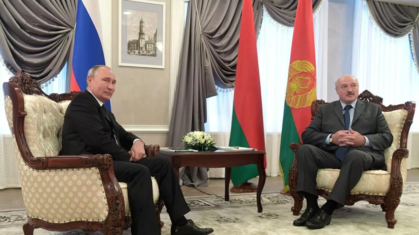 В Кремле сообщили детали разговора Путина и Лукашенко
