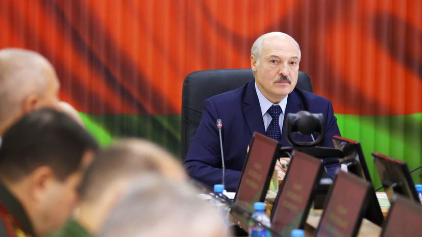 Лукашенко прокомментировал забастовки на предприятиях Белоруссии