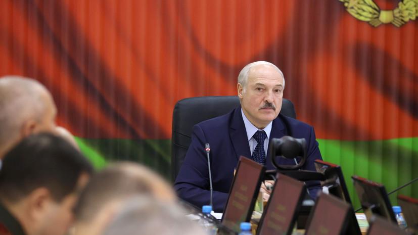 Лукашенко заявил о договорённости с Путиным по обеспечению безопасности Белоруссии