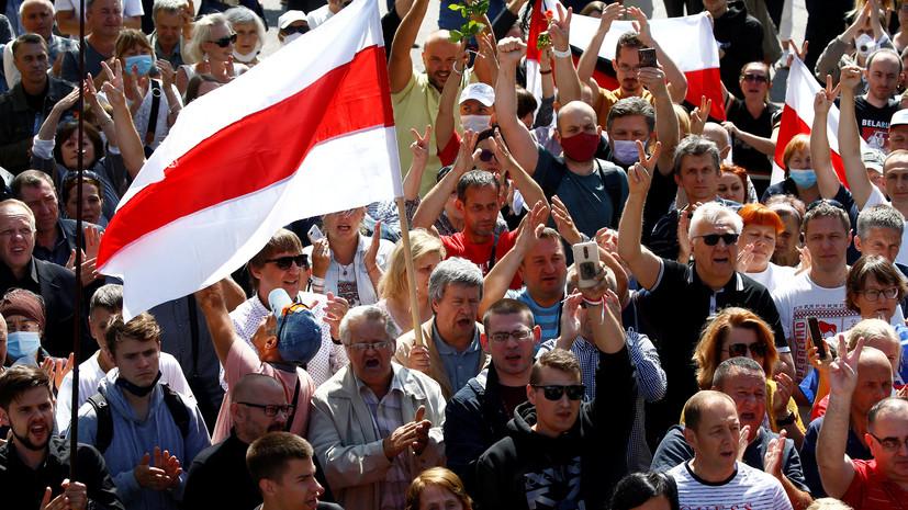 Посол Белоруссии в Словакии поддержал протестующих